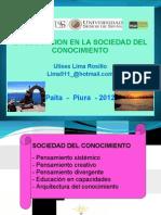 La Educacion en La Sociedad Del Conocimiento.pptx