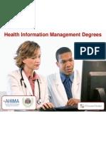 CAHIIM Accredited Online Programs + AHIMA RHIT & RHIA Certifications