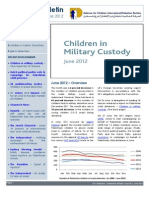 Defence for Children International-Palestine's monthly bulletin on detention  - Issue 30 - June 2012