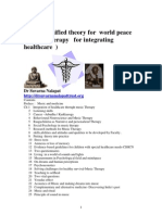 Grand Unification for World Peace ; Music THerapy for Integrating Healthcare PDF