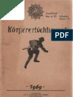 Körperertüchtigung - NVA, Polizei, Bereitschaften, DDR 1969