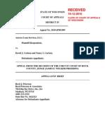 Als v Carlsen Appeal Brief