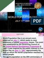 World Population Day presentation