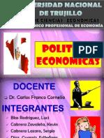 POLITICAS ECONOMICAS.