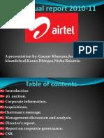 Bharti Annual Report