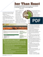 Tools for Developing Your own Drought Plan