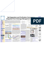 Salt Separation and Purification Concepts in Integrated Farm Drainage Management Systems