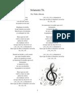 Cancionero de Pablo Alborán