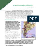 Radiografía de la crisis energética en Argentina
