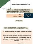 """FAUA UPAO Expo """"Sobre la Conceptualización e Idea Rectora en Arquitectura"""". Arq. Julio Ramirez Nuñez"""