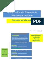 Curso Planeamiento de Sistemas de Telecomunicaciones PRIMERA CLASE AGOSTO2011