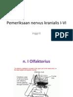 Pemeriksaan Nervus Cranialis