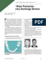Mandibular Molar Protraction With TAD