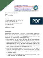Surat Klarifikasi Dpd Fsp Kep Spsi Ntb Terkait Surat Pimpinan Musnik