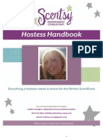 Scentsy Party Hostess Handbook