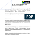 CONCURSO MULTIDISCIPLINARIOS DE ARTICULOS DE INVESTIGACION JURÍDICA