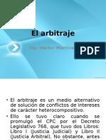 El Arbitraje - Fundamentos