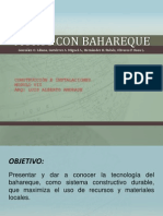 MUROS DE BAHAREQUE Y PLANTAS DE TRATAMIENTO