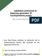 Responsabilidad Contractual (I)