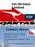 Qantas Airways Limited Power Points