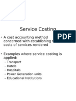 Service Costing