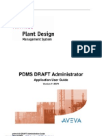 PDMS DRAFT Administration Guide