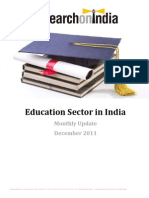 Education Sector in India Monthly Update[1]