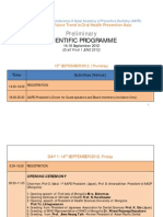 Preliminary Scientific Programme