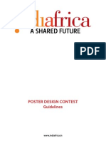 Indiafrica Poster Guideline