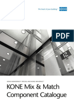 KONE Mix and Match Component Catalogue