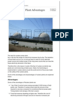 Nuclear Power Plant Advantages Disadvantages