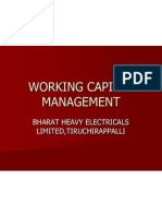 Ppt Roll No.50,A Study on Working Capital Management