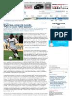 Enyinnaya, Campione Mancato _Potevo Essere l'Altro Cassano_ - Bari - Repubblica
