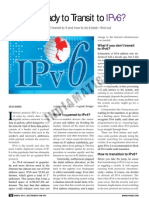 IPv4 to IPv6 Transition !
