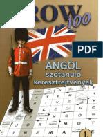 Crow 100 - Angol Szótanuló Keresztrejtvények 1. rész