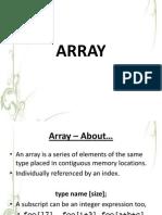Array Class 3