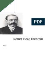 Nernst Heat Theorem