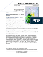 Bio Cide s for Industrial Use