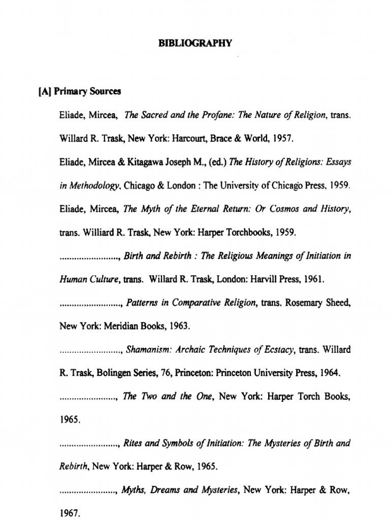 Mercia eliade bibliograpy new york mythology buycottarizona