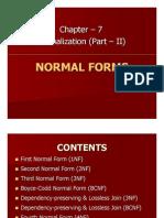 7.Normalization II