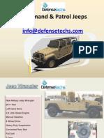 Presentation Vehicles Defensetechs