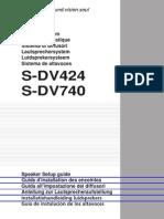 114963631SETUP GUIDE S-DV740