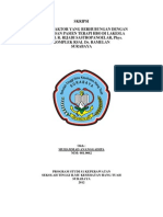 Skripsi Faktor Kecemasan Pasien Terapi HBO di LAKESLA Drs. Med. R. Rijadi Sastropanoelar, Phys. Komplek RSAL Dr. Ramelan, Surabaya.