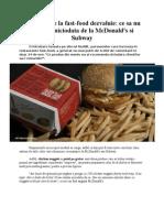 Angajatii de la fast-food dezvaluie