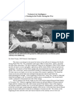 Technical Air Intelligence Wreck Chasing in the Pacific During the War