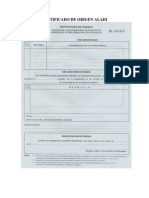 Certificacion ALADI