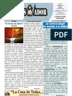 """2012-07-15 """"EL CONQUISTADOR"""" Boletín Semanal de La casa de Todos"""