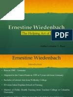 Ernestine Wiedenbach Presentation