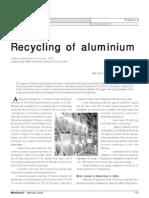 Recycle of Alluminium