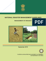Management for Drought - National Disaster Management